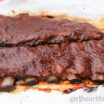 Easy Fall-off-the-Bone Rib recipe for pork ribs - girlheartfood.com